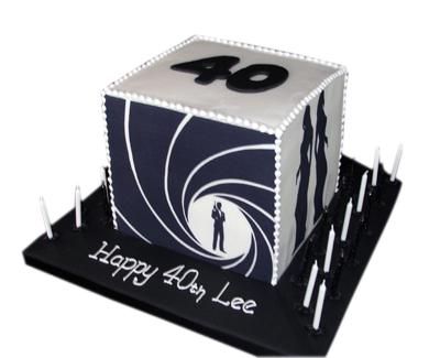 007 Birthday Cake
