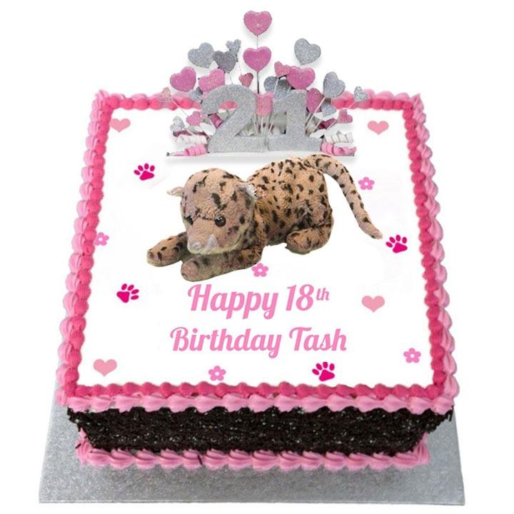 21st Happy Birthday Cake For Girls