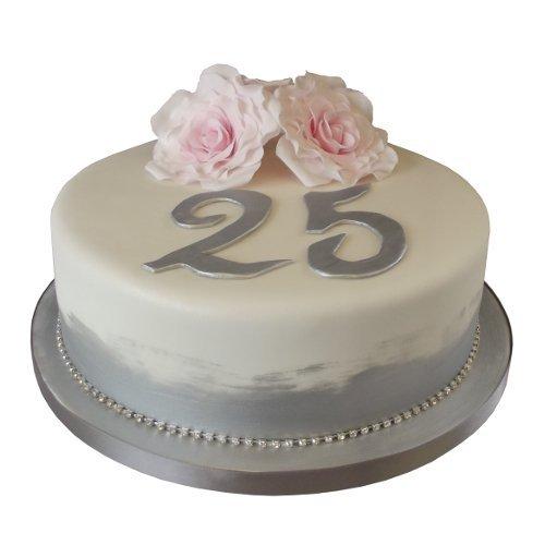 25th Work Anniversary Cake for Men