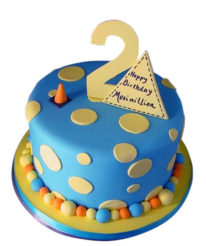 2nd Birthday Cake for boys