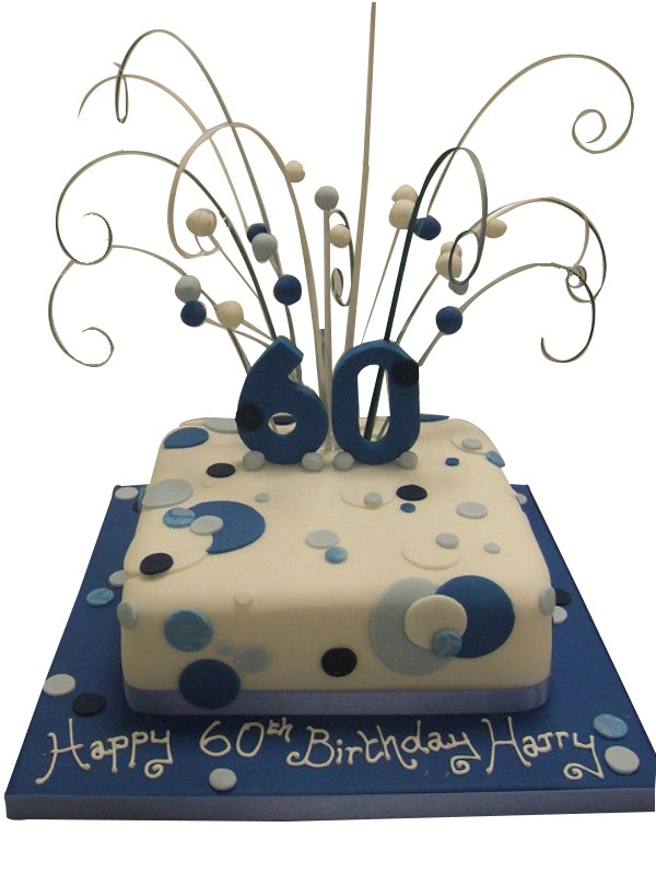 60th Birthday Cakes Two Tier 60th Birthday Cake With Fondant Roses Baking 60th Baking B 60th Birthday Cakes 70th Birthday Cake 60th Birthday Cake For Men