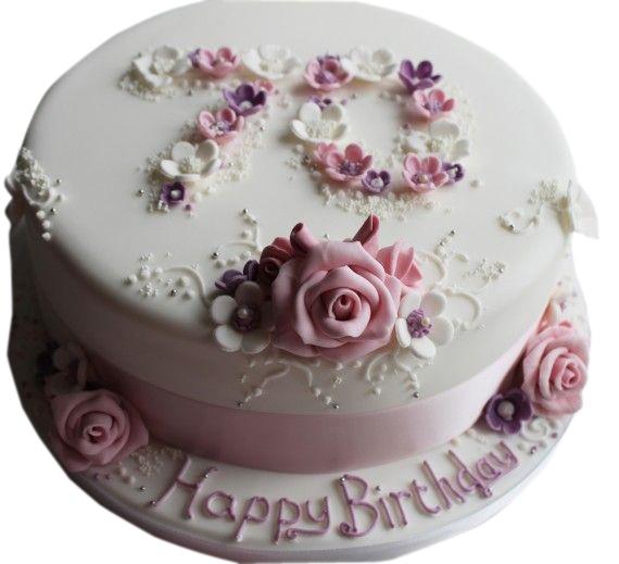 70th Birthday Cake for Women