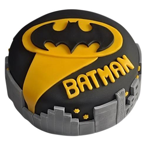 Batman Signal In Gotham Cake