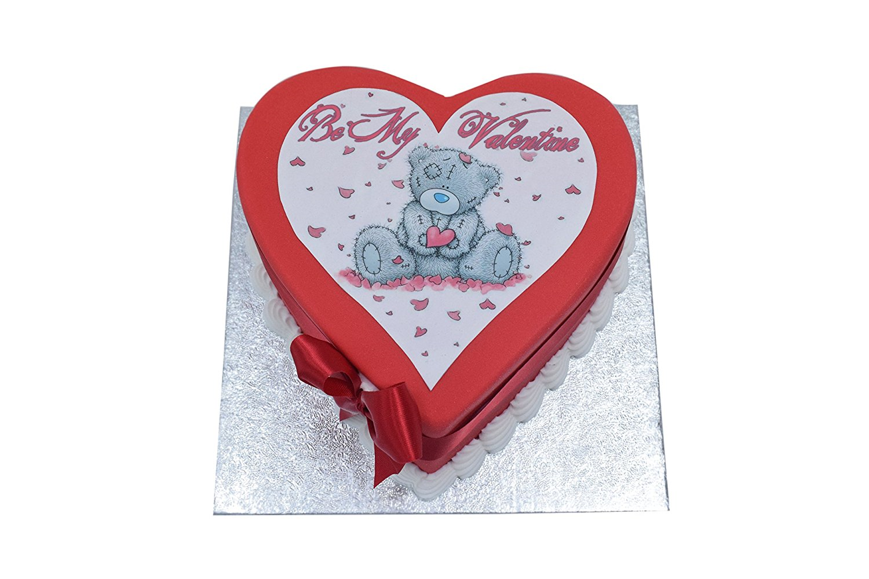Be My Valentine Heart Shaped Cake- Egg Free & Gluten Free Options