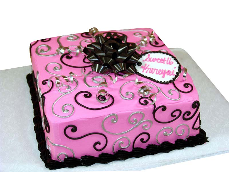 2nd Birthday Cake for Girls