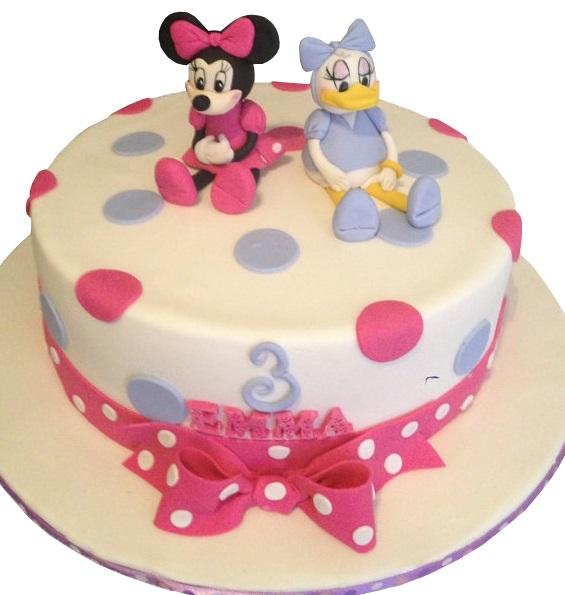 Daisy Duck Minnie Mouse Cake