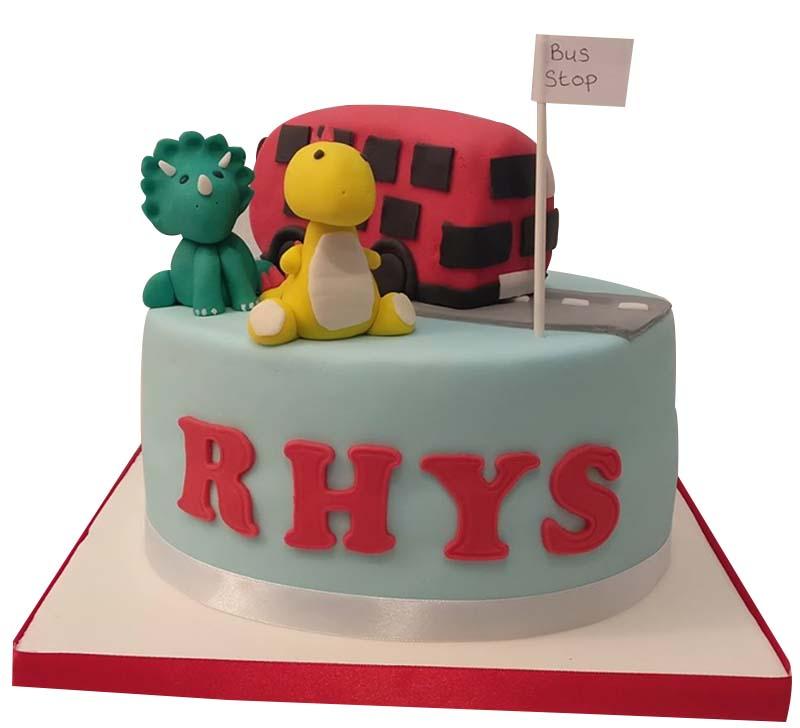 Dino Kids Cake