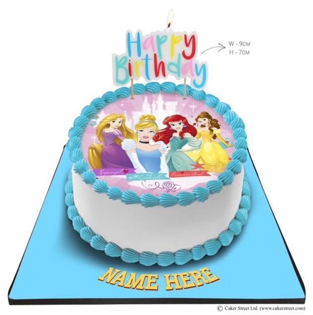 Disney Photo Cake