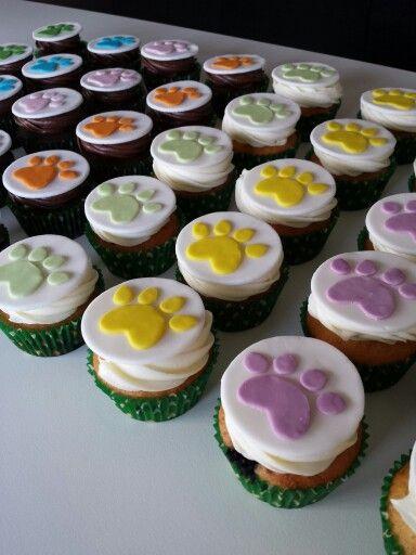 Dog Theme Cupcakes