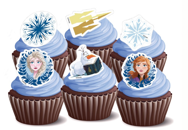 Frozen Elsa Cupcakes - Pack of 6