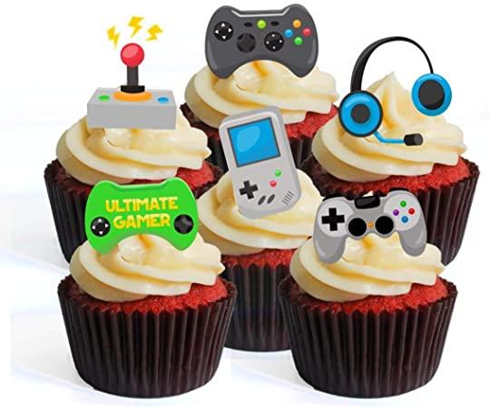 Gaming Theme Cupcakes