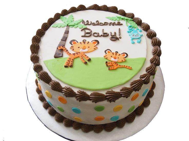 Jungle Birthday Cake For Kids