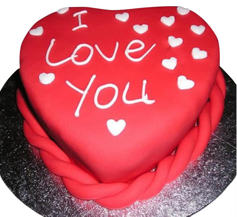 Love Valentines Cake