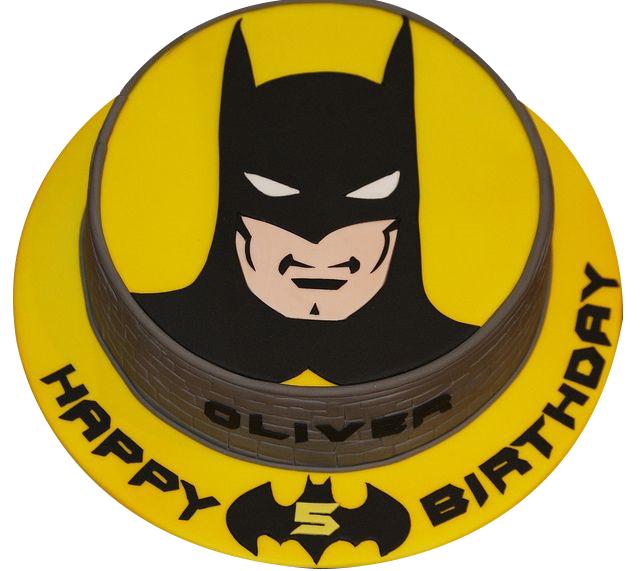 Mask Batman Cake For Kids