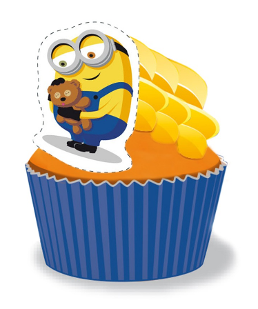 Minion Cupcakes - Pack of 6