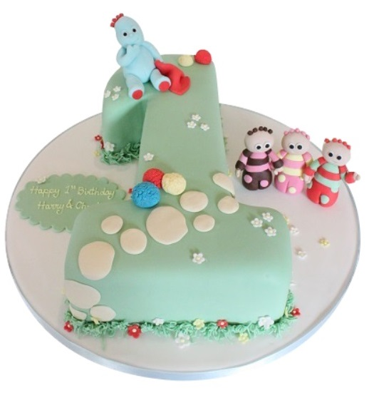 Night Garden Birthday Cake