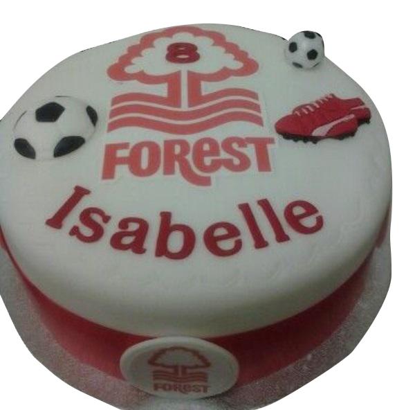 Nottingham forest cake