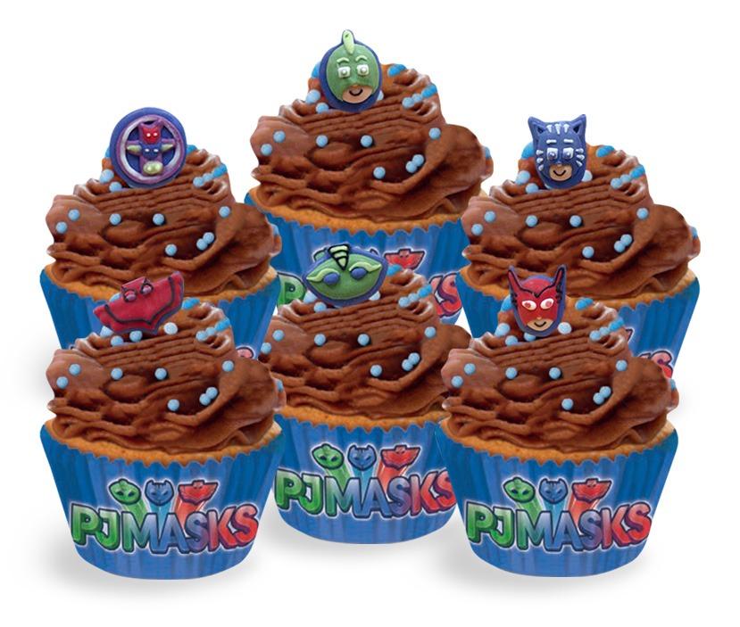 PJ Masks Cupcakes Pack of 6