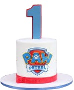 Paw Patrol 1st Birthday Cake