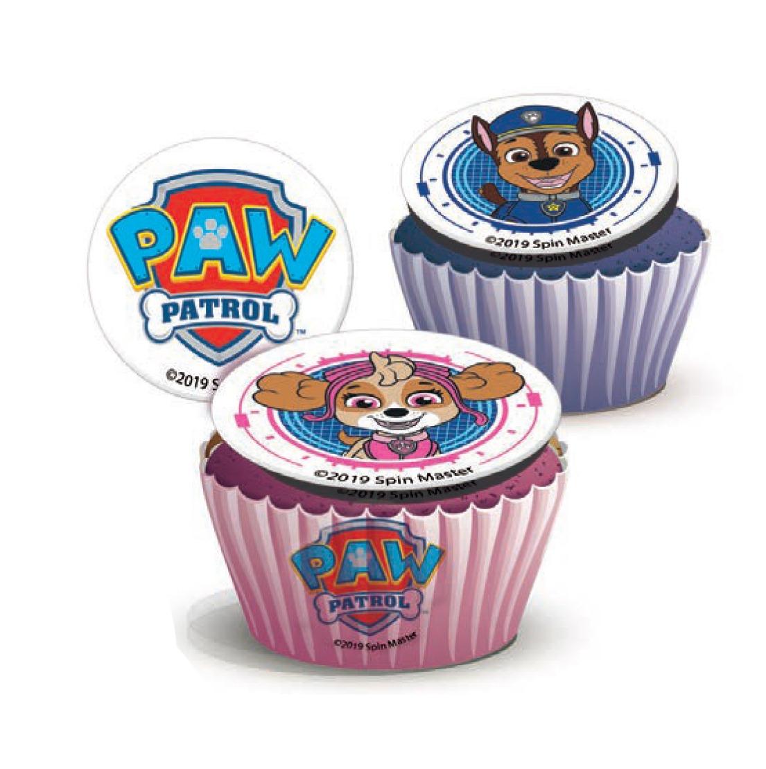 Paw Patrol Cupcakes Pack of 6