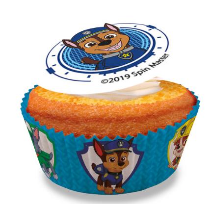 Paw Patrol Cupcakes - Pack of 6