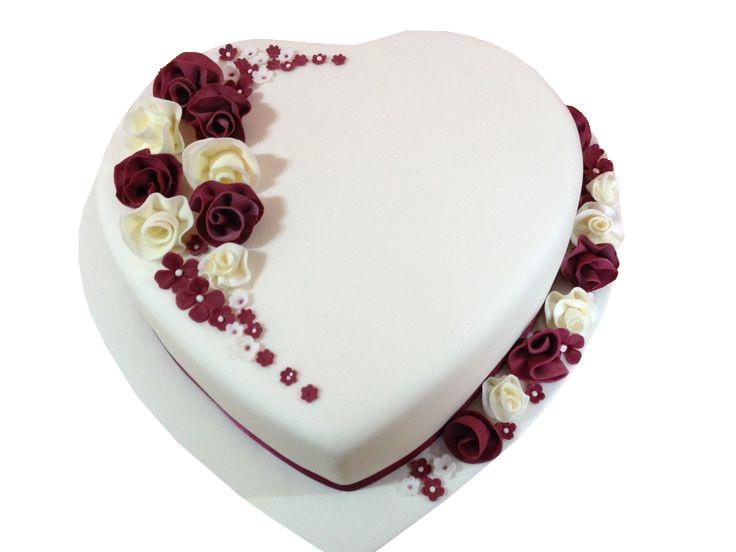 Personalised Valentines Cake