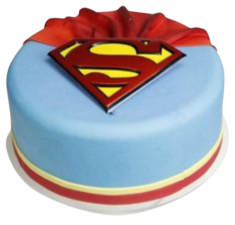 Superman Birthday Cakes