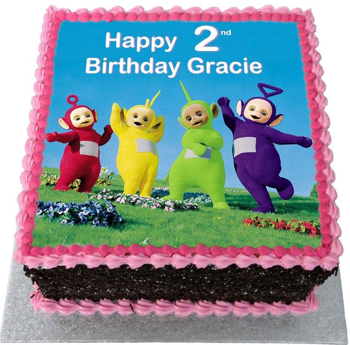 Teletubbies Kids Birthday Cake