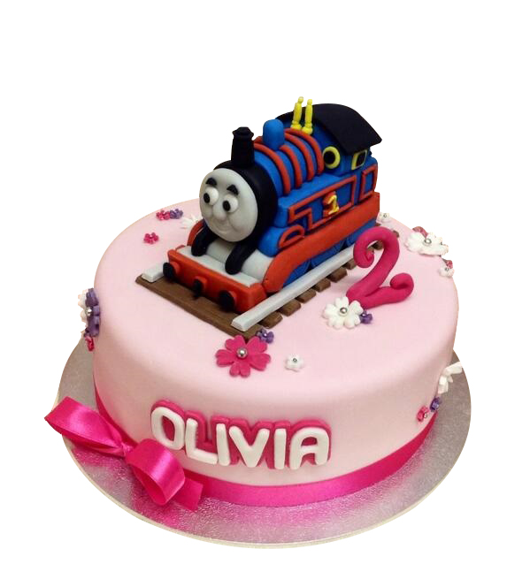 Thomas The Tank Engine Birthday Cake For Girls