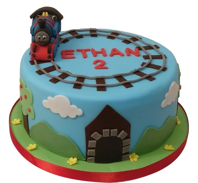 Thomas Tank Engine Cake for Boys