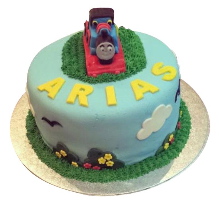Thomas The Tank Birthday Cake