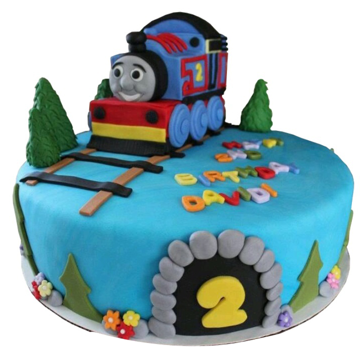 Thomas The Tank Engine Toy Cake For Kids