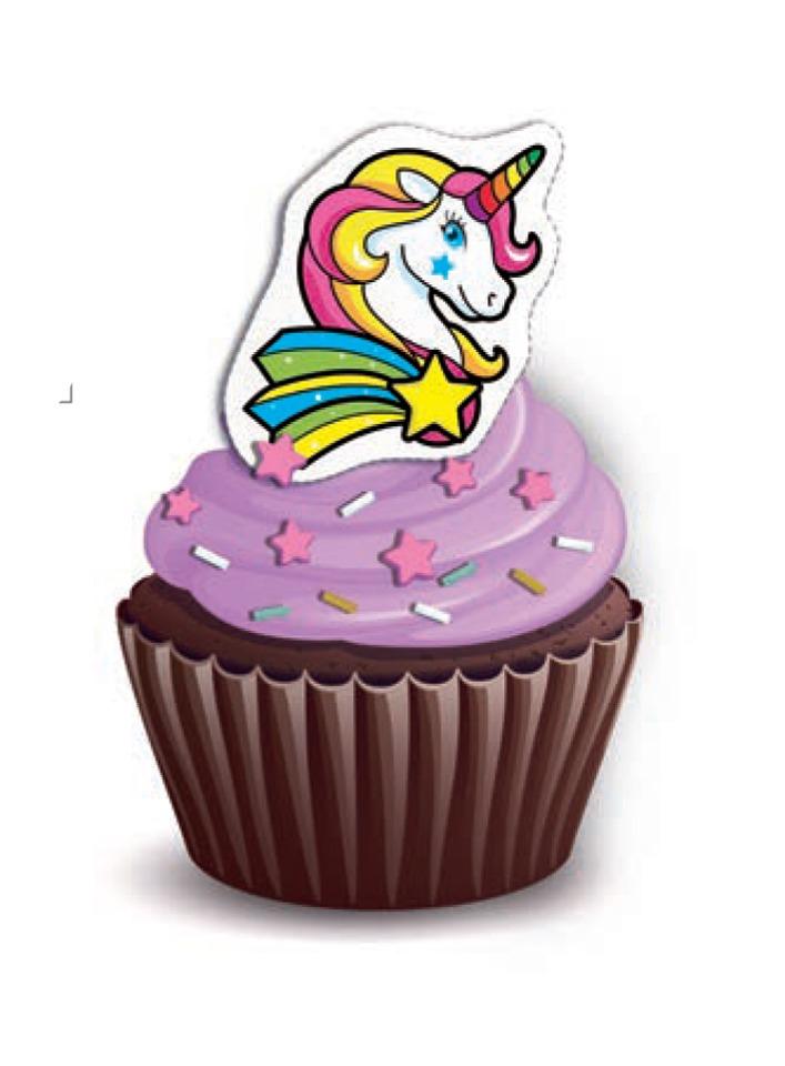 Unicorn Cupcakes Pack of 6