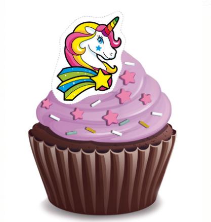 Unicorn Cupcakes - Pack of 6