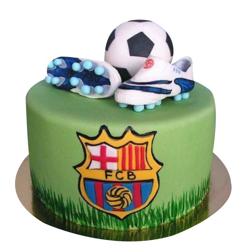 FC Barcelona Football Club Cake