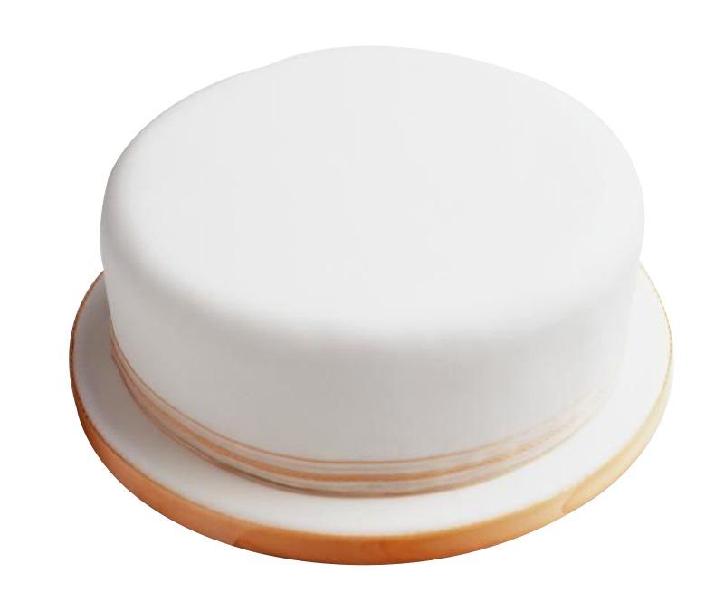 Plain White Icing Cake