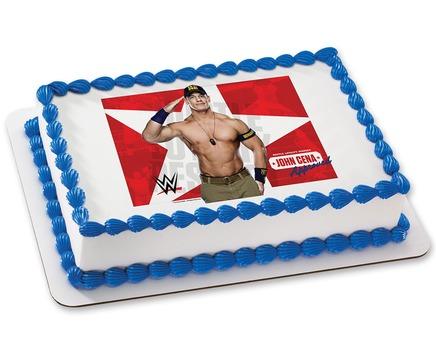 WWE Photo Cake